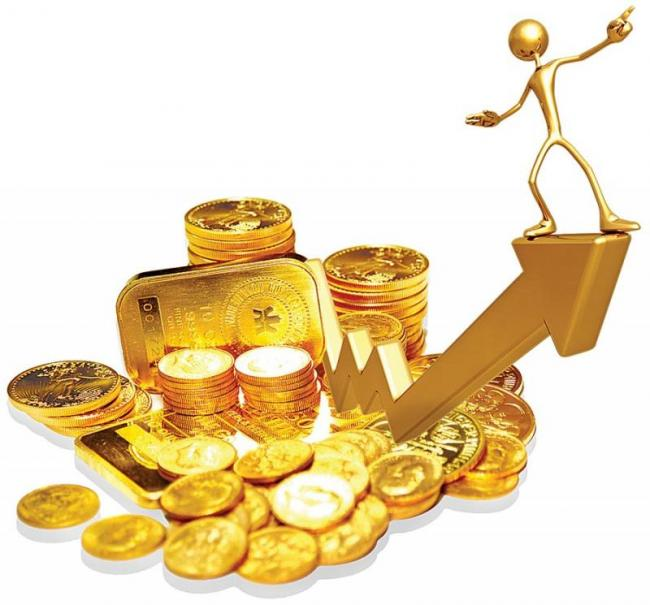 Gold, silver climb on high demand - Sakshi