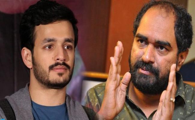 Rumors On Akhil Akkineni And Krish jagarlamudi Movie - Sakshi