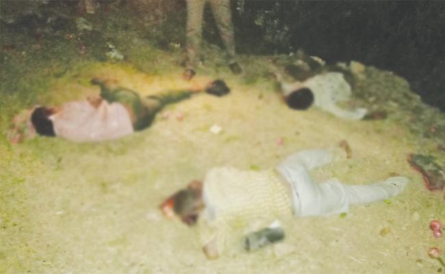Three Men Died in Road Accident Khammam - Sakshi