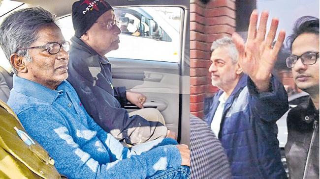 Rajiv Saxena, lobbyist Deepak Talwar extradited to India - Sakshi
