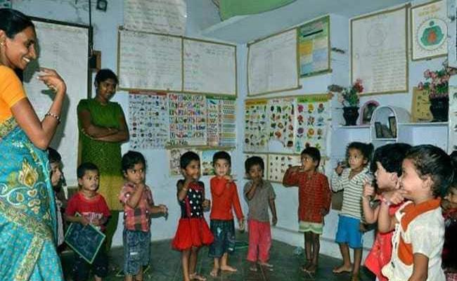 Anganwadi Posts Notification Pending In Telangana - Sakshi