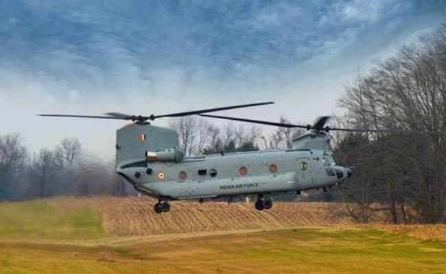 chinook Helicopters Arrive India - Sakshi