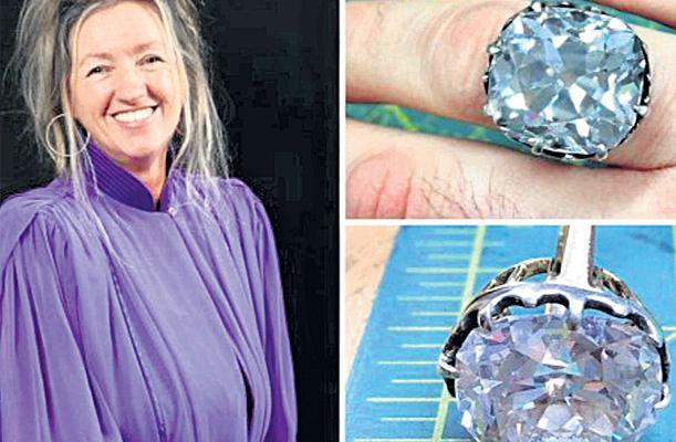 Debra Goddard Realises The Glass Ring She Bought On Sale Was A Diamond - Sakshi