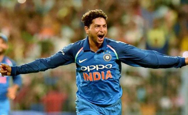 Kuldeep Yadav jumps to second spot - Sakshi