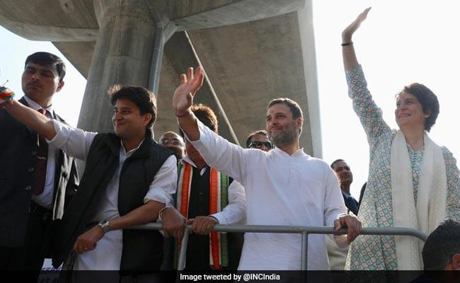 Rahul Says Priyanka will Remain in UP  - Sakshi