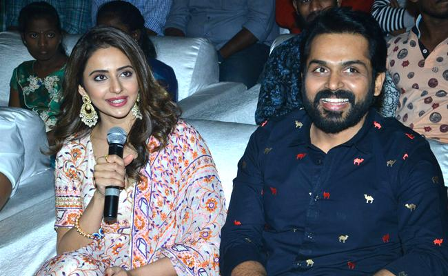 Karthi dev movie pre release event - Sakshi