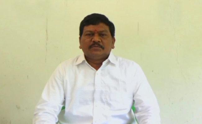 YSRCP MLA Rajanna Dora Fires On Chandrababu Over Dharma Porata Deeksha in Delhi - Sakshi