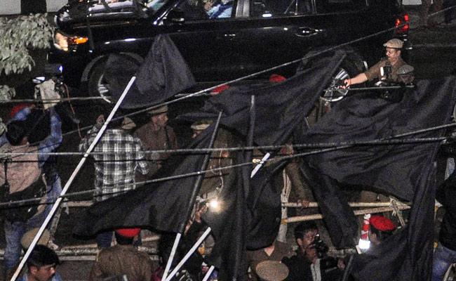 Why Have BJP-Led State Governments Developed A Phobia About Black Flags? - Sakshi