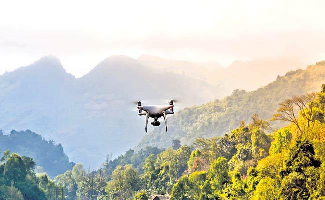 Officials Decided Use Technology To Protect Forest Area In Telangana - Sakshi