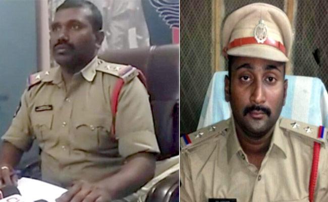 Action Taken Against Mylavaram And g Kondor Police - Sakshi