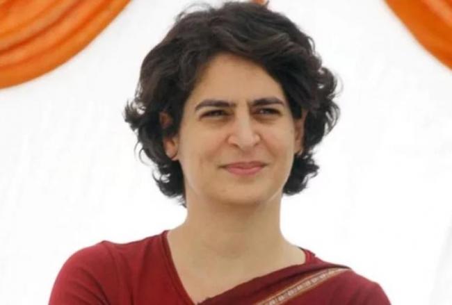 Priyanka Gandhi will first come to Uttar Pradesh on Monday - Sakshi