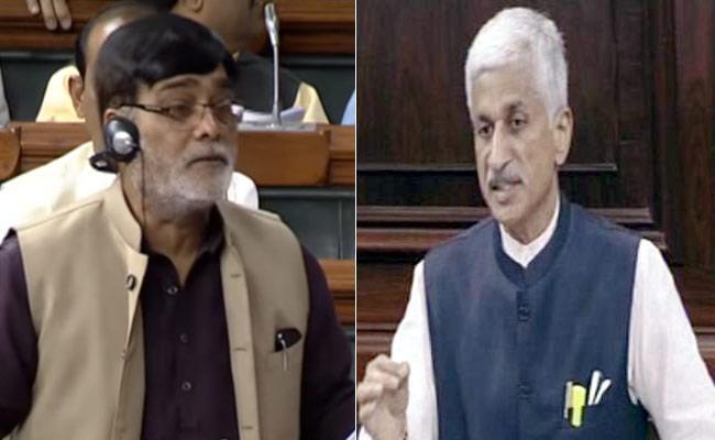 YSRCP MP Vijaya Sai Reddy Question In Rajya Sabha On NREGA Funds For AP - Sakshi
