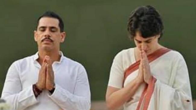 Robert Vadra puts up emotional post on Priyanka gandhi - Sakshi