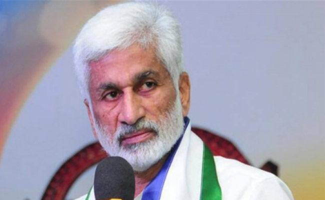 Vijayasai Reddy Tweets Against Chandrababu Naidu - Sakshi