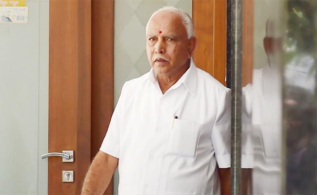 Yeddyurappa Admits Voice On Tape Is Mine Only - Sakshi