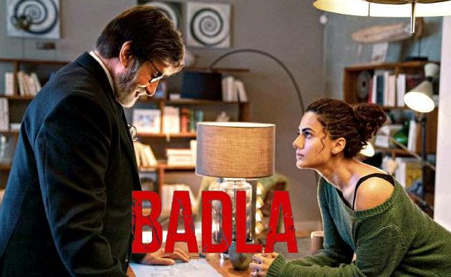 Amitabh Bachchan Has To Defend Taapsee Pannu Again In Badla - Sakshi