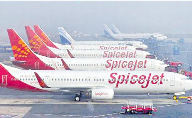 SpiceJet sees improving outlook despite profit plunge - Sakshi