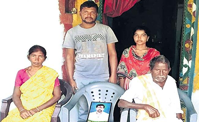A farmer suicidal with debt - Sakshi