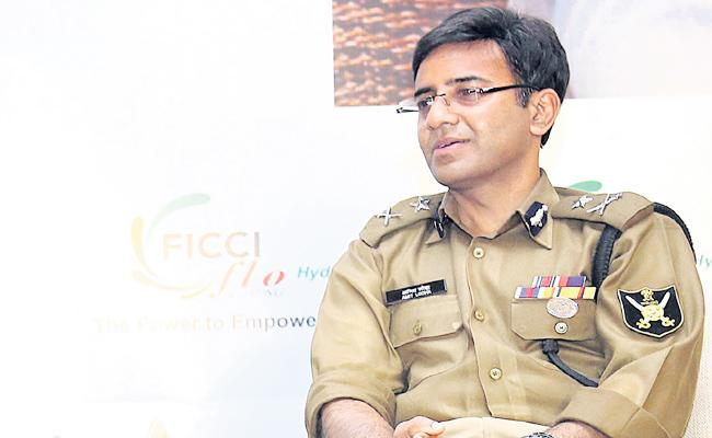 IPS Amit Lodha Special Chit Chat With Sakshi