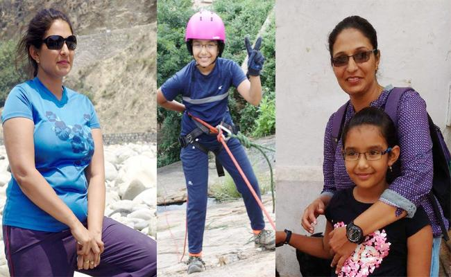 Trecking Girl Child Kamya Special Story - Sakshi