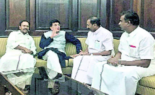 BJP Target Alliance With AIADMK - Sakshi