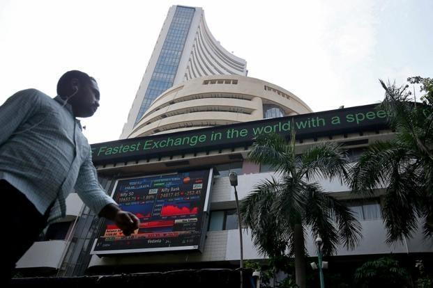Sensex ends over 240 points lower, Nifty below 10,850 - Sakshi