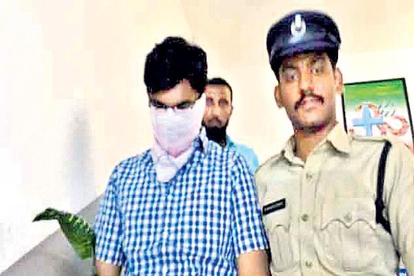Remand to Surya Teja in Jhansi suicide case - Sakshi