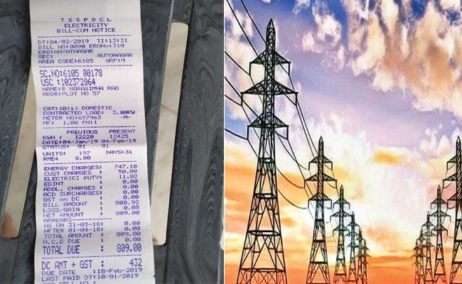 Discoms Charges GST On New Electricity Connections In Telangana - Sakshi