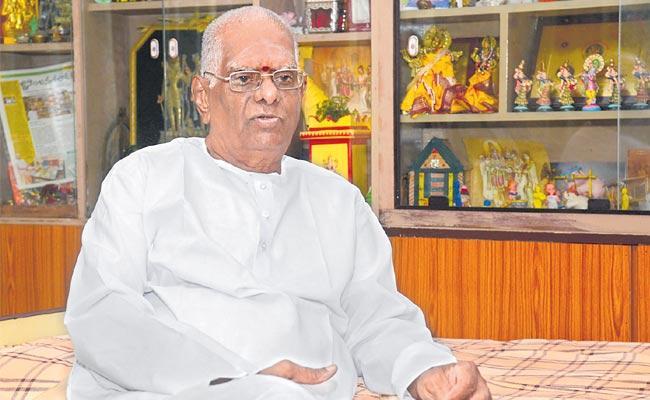 Raghunath Sharma was selected for the honorary award - Sakshi