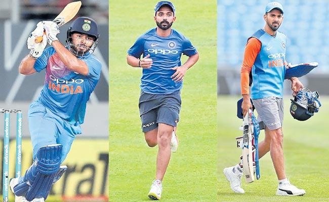 rishabh Pant  And Rohit Sharma as openers for India in World Cup - Sakshi