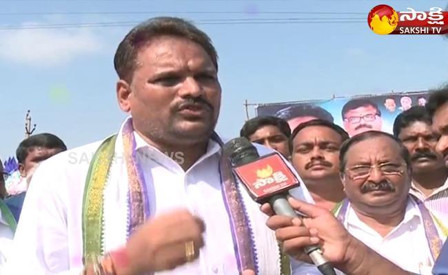 YSRCP Leader Majji Srinivasa Rao Fires On TDP Government Over Bhogapuram Airport Issue - Sakshi