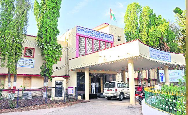 New Zilla Parishad Building Telangana - Sakshi