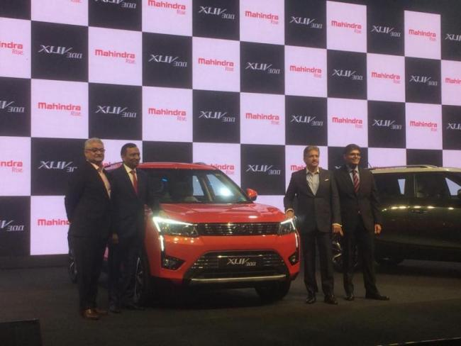 Mahindra XUV300 Launched in India, Starting at Rs. 7.90 lakh - Sakshi