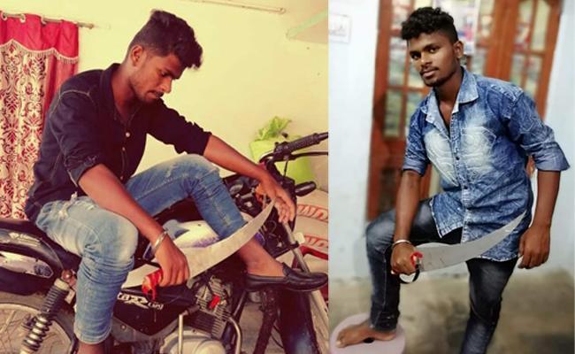 In Nalgonda Inter Student Stabs Classmates 1 Person Dead - Sakshi