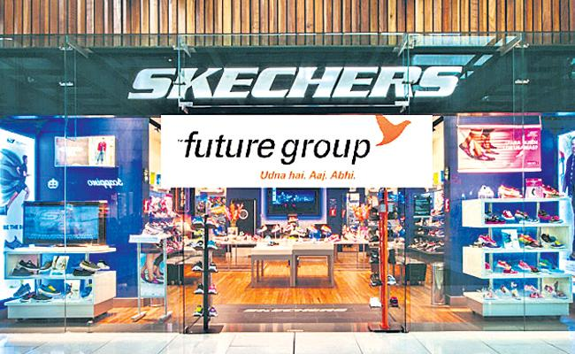 Skechers buys out Future Group 49% stake in joint venture - Sakshi