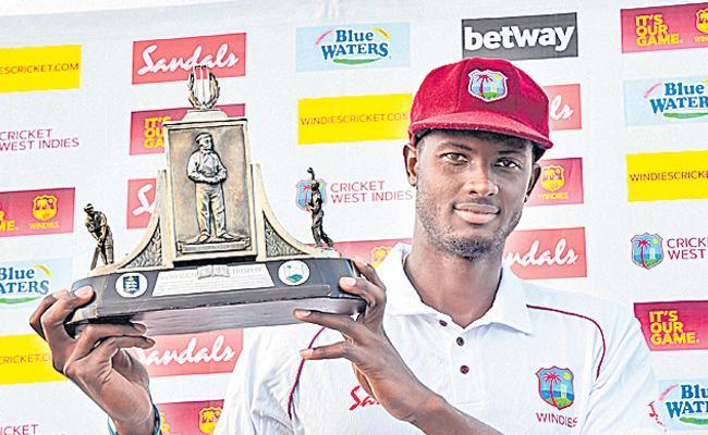 3rd Test: England thrash West Indies but lose series 1-2 - Sakshi