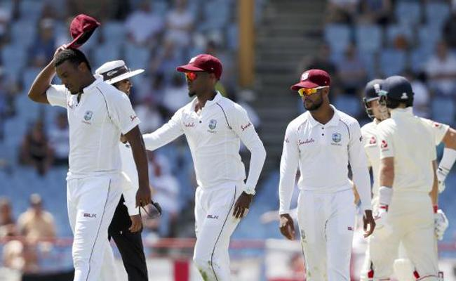 West Indies, England bowlers bowl most number of wides in a Test match - Sakshi