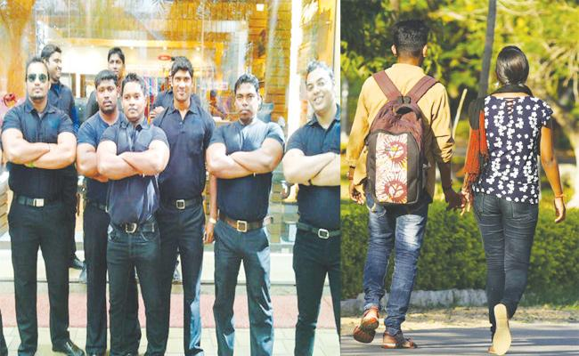 Bouncers Protection For Valentine Day Special Events - Sakshi