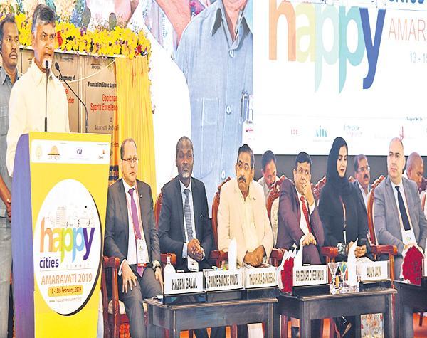Amaravati is building with a unique idea says Chandrababu - Sakshi