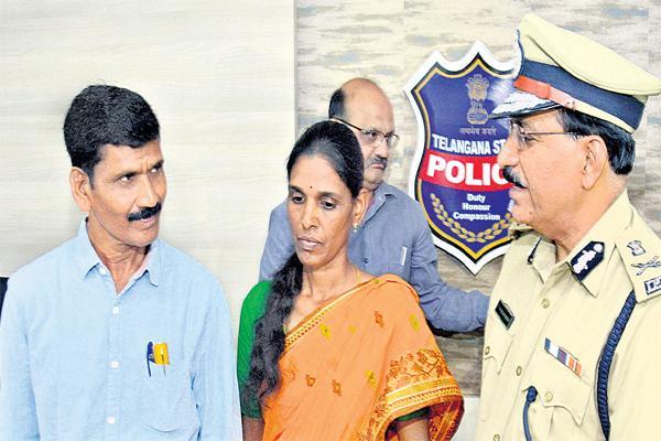 former Maoist Sudhakar and Neelima couple surrendered before the DGP - Sakshi