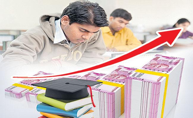 Higher Education Department Initiative To Increase Degree Fees - Sakshi