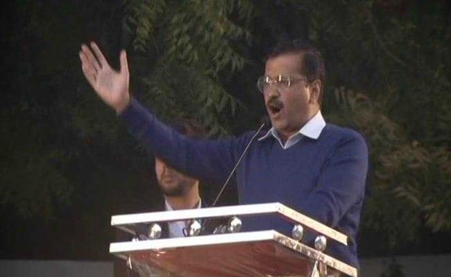 Arvind Kejriwal Urged People Donot Elect 12th Pass PM - Sakshi