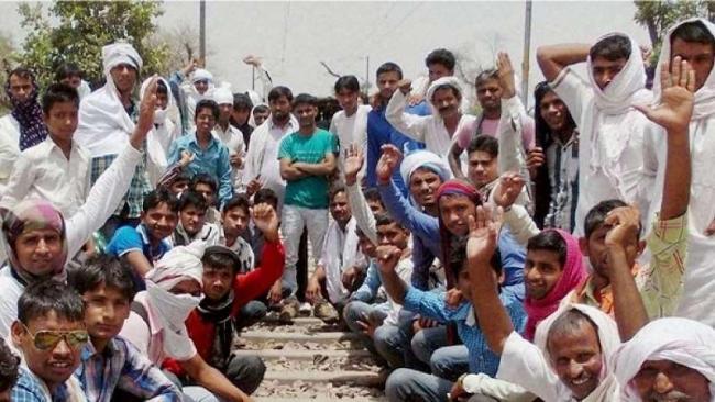 Gujjar Reservation Bill passed in Rajasthan Assembly - Sakshi