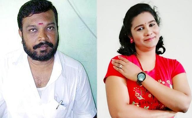 Actor Sandhya Husband Realize in Murder Case - Sakshi