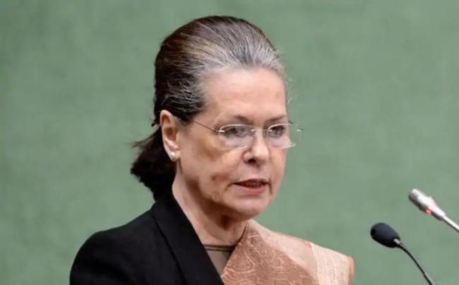 Sonia Gandhi lashes out at Modi govt - Sakshi