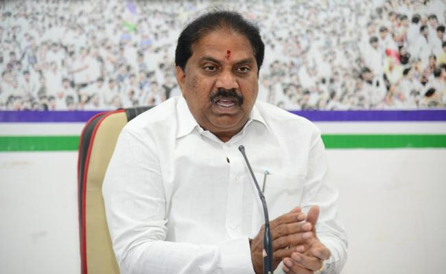 YSRCP Spokesperson Malladi Vishnu Slams TDP Government - Sakshi