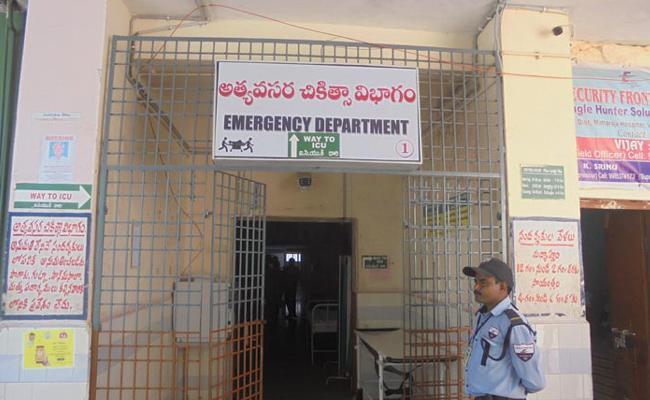Treatment Services Shortage in District Central Hospital Vizianagaram - Sakshi