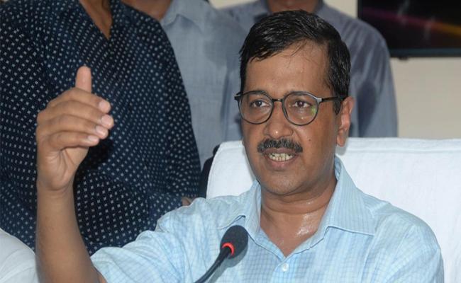 Arvind Kejriwal Says No Alliance With Congress - Sakshi