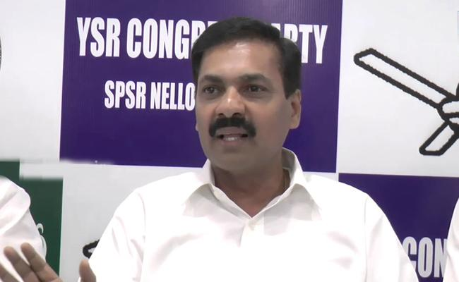 YSRCP MLA Kakani Govardhan Reddy Slams Chandrababu Over Farmers Issues - Sakshi