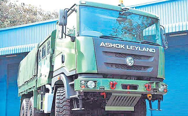 Ashok Leyland Q3 profit dips 21% to Rs 381 crore - Sakshi